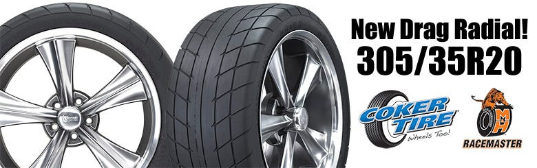 New M&H Drag Radial Size -- 305/35R20