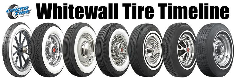 The History and Timeline of Whitewall Tires
