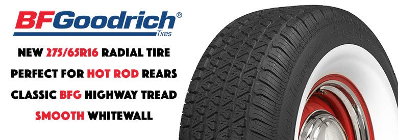 NEW BFGoodrich Silvertown 275/65R16 Tires In Stock NOW!