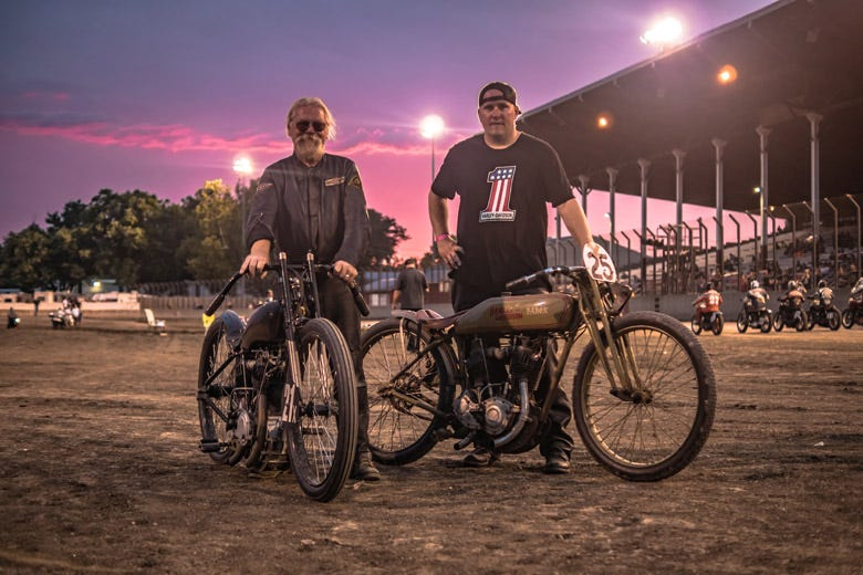 Davenport's 2018 Chief Blackhawk Motorcycle Show