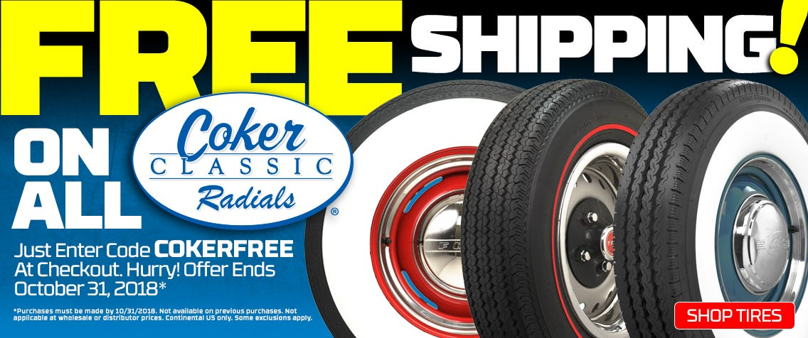 FREE Shipping on Coker Classic Radials!