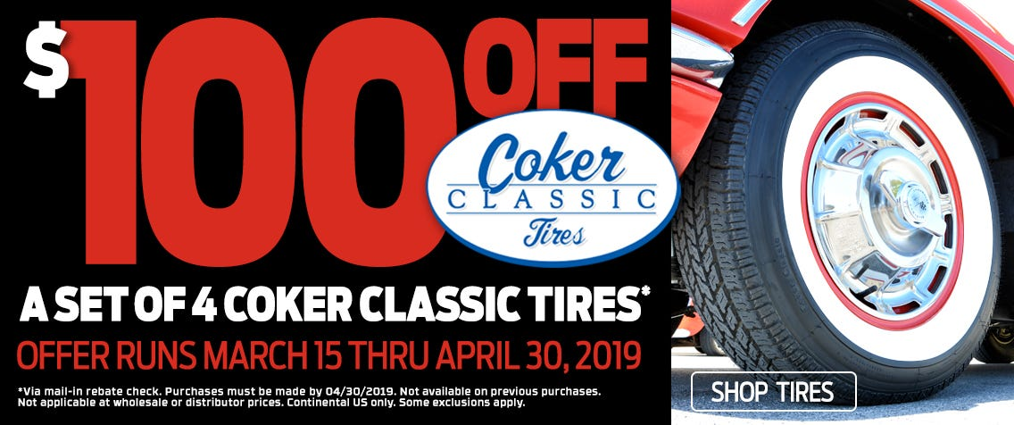 Coker Classic 100 Rebate Slider