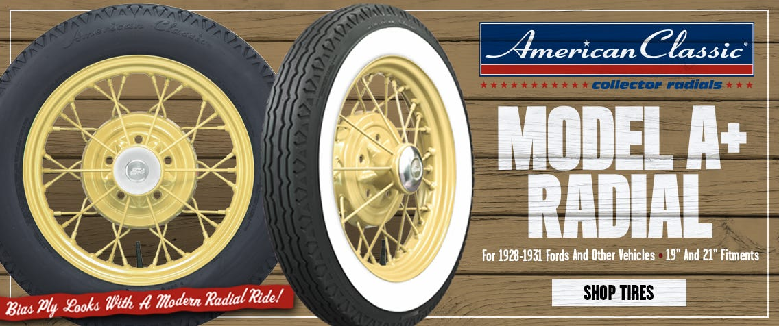 Model A+ Radial Tire