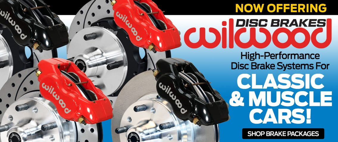 Wilwood BRakes Kits for Classic Vehicles
