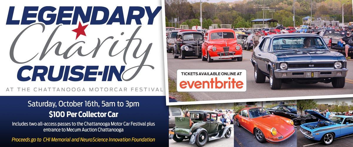 Legendary Charity Cruise In | Chattanooga Motorcar Festival