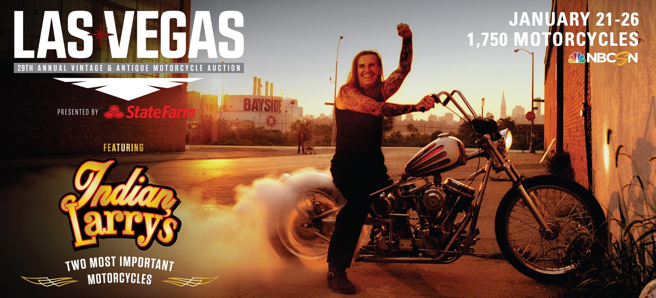 Mecum Motorcycle Auction   Las Vegas