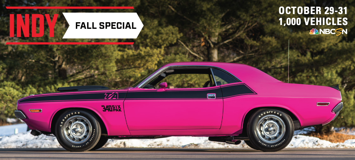 Mecum Auctions | Indy Fall Special