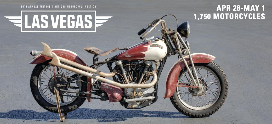 Mecum Motorcycle Auction | Las Vegas