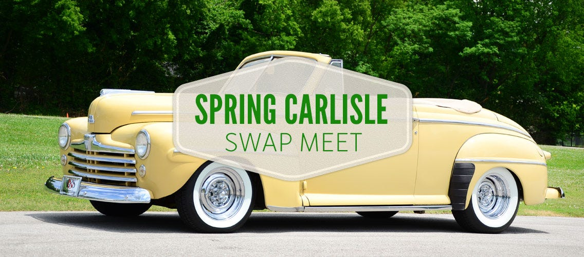 Spring Carlisle Swap Meet