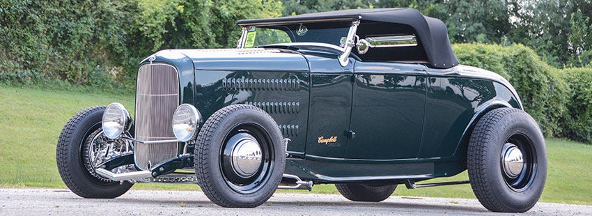 1932 Ford Roadster with Excelsior Stahl Sport Radial Tires