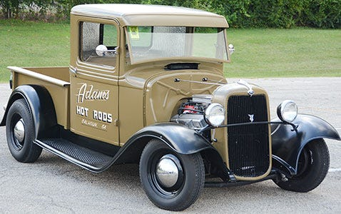 1932 Ford Truck with Excelsior Stahl Sport Radial Tires