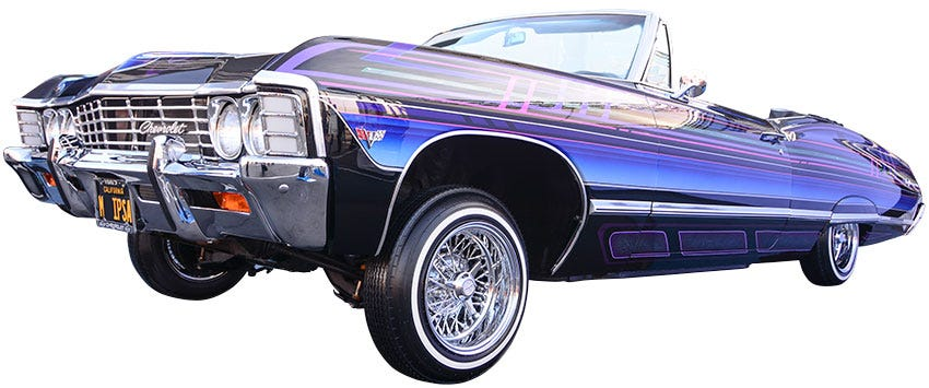 1967 Chevrolet Impala on Premium Sport Tires