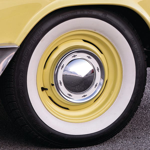 1955 Chevy tires and wheels