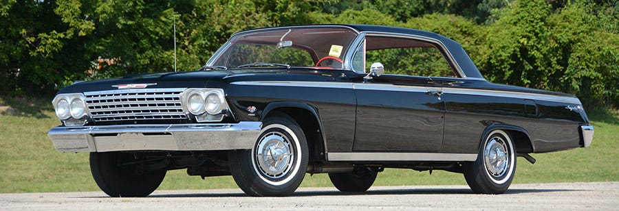 1962 Impala SS with bias ply tires