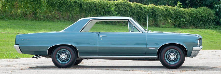 1964 Pontiac GTO redline tires