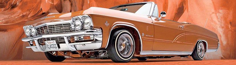 1965 Chevrolet Impala Lowrider with Premium Sport Tires