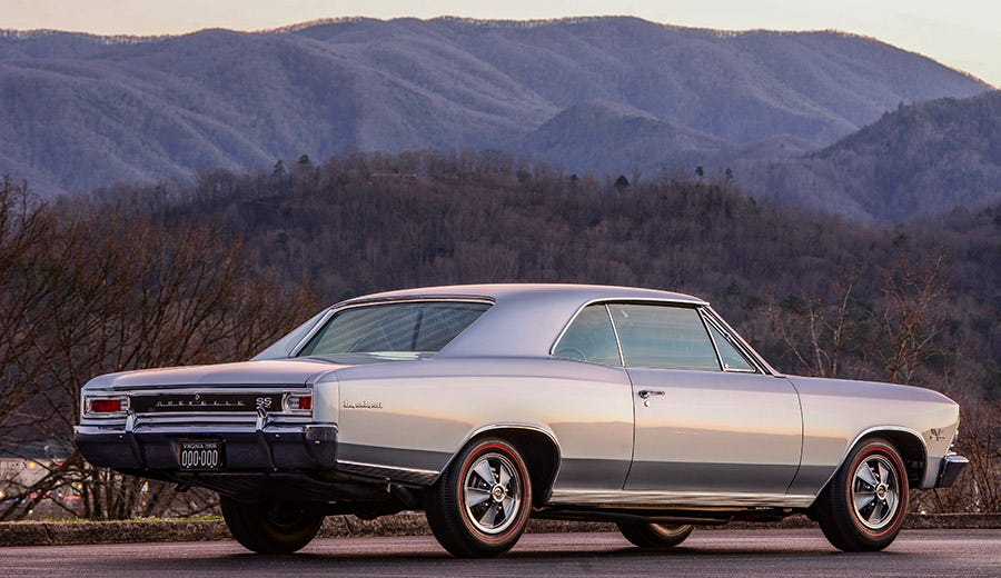 Chateau Slate 1966 Chevelle SS396