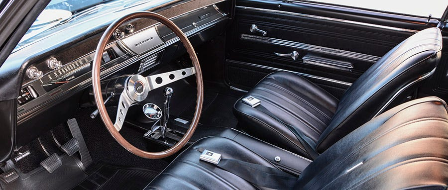 1966 Chevelle interior