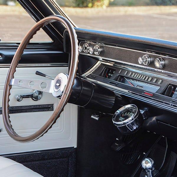 1966 Chevelle SS396 interior
