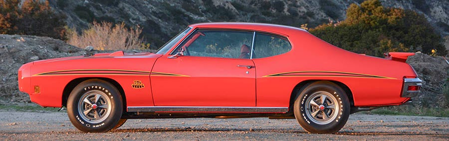 1970 Pontiac GTO Judge Tires and wheels