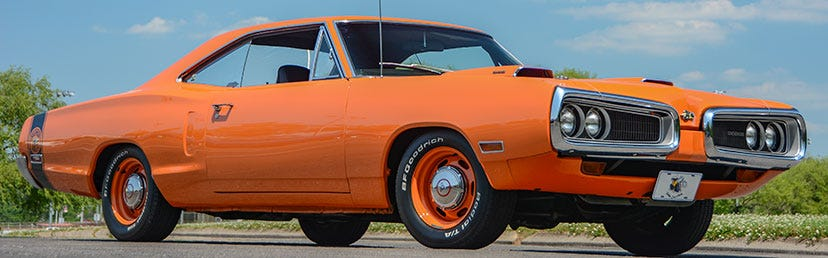 1970 Plymouth Super Bee with BFGoodrich® Radial T/A Tires