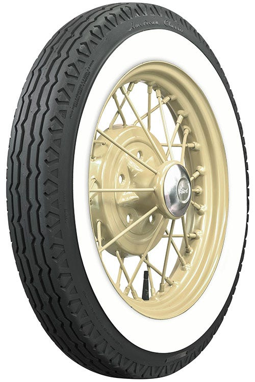 Ford Model A whitewall tire