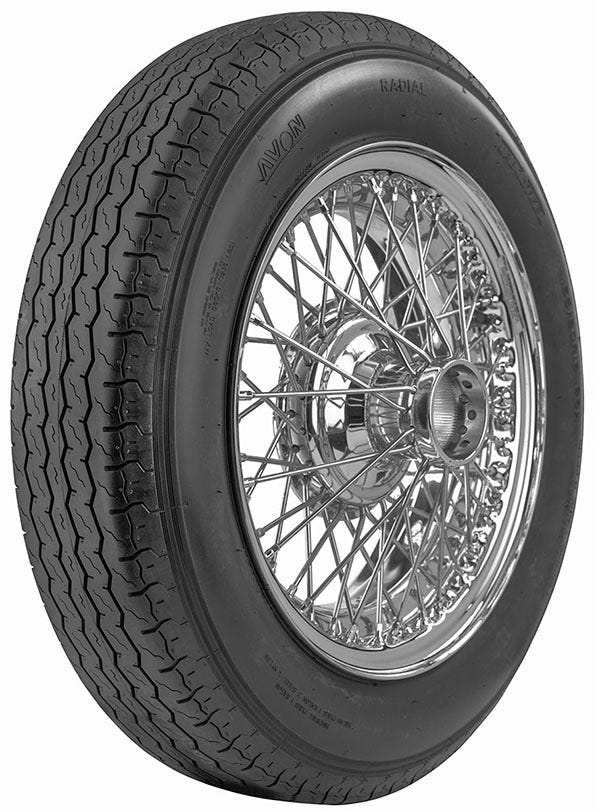 Avon Turbosteel Radial Tire