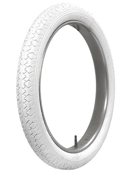 All white clincher tires