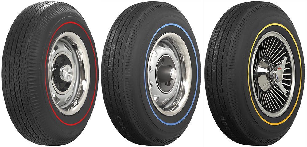 Bias ply muscle car tires