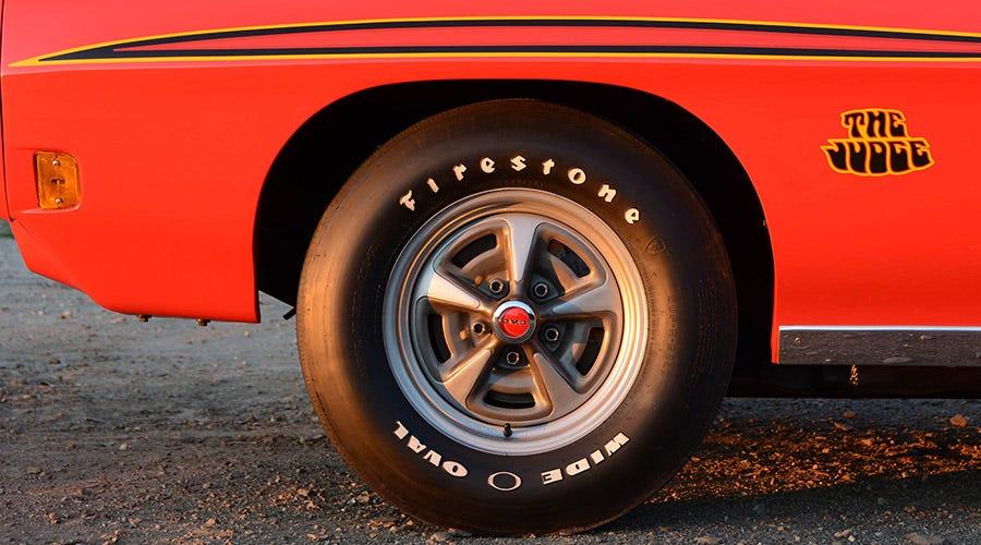 1970 Pontiac GTO Judge tires