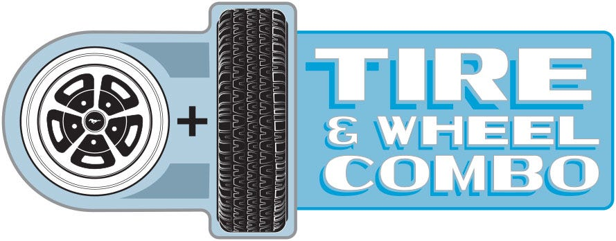 Tire & Wheel Combo from Coker Tire Company