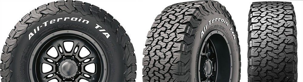 BFG All-Terrain KO2 tires