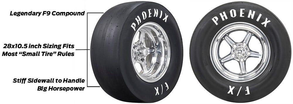 Phoenix No Prep Tires