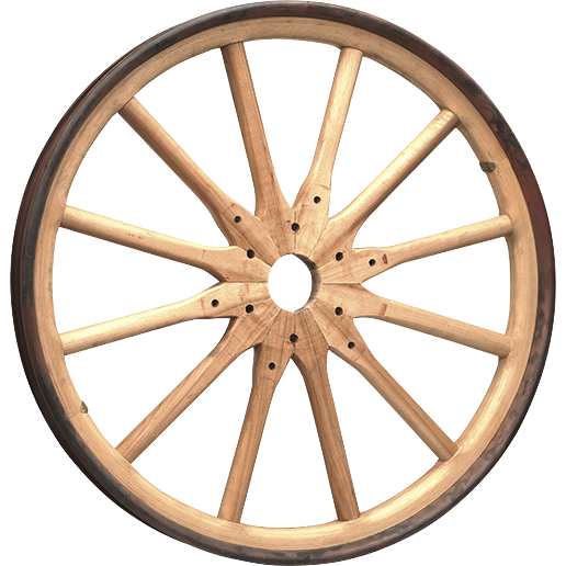 Wooden Wheel Image