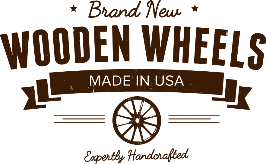 Brand New Wooden Wheels